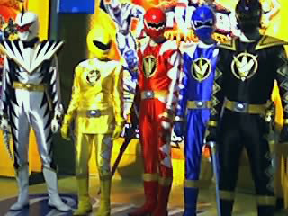 Image: Power Rangers at South Mall, by Eric James Sarmiento on Flickr