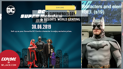 [Explore] DC Superheroes Day @ Resorts World Genting