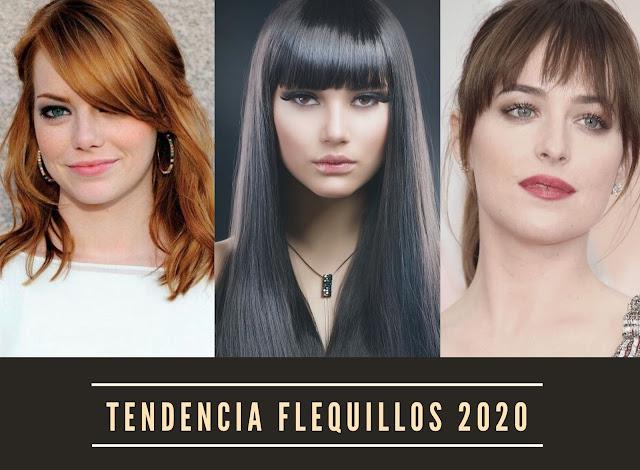 Cortes de pelo con flequillo 2020