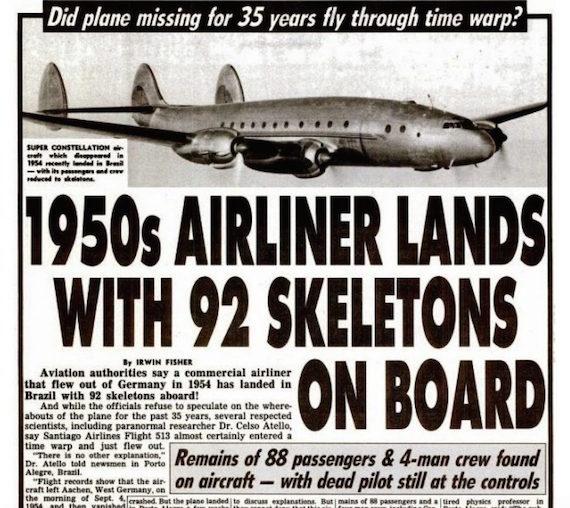 Mendaratnya Pesawat Yang Telah Hilang Selama 35 Tahun