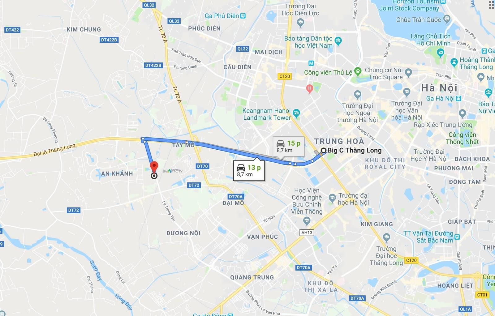 Maps di chuyển đến thiên đường Bảo Sơn