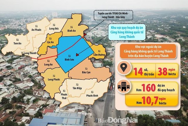 Tăng trưởng hạ tầng thôi thúc bất động sản Long Thành