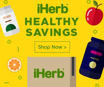 تخفيضات iHerb تصل الى ٣٠% على منتجات الصحه والمكملات الغذائيه