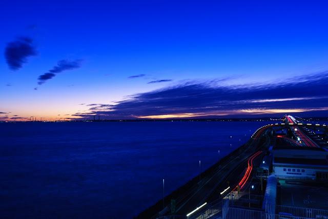 夜明けの景色~海ほたる