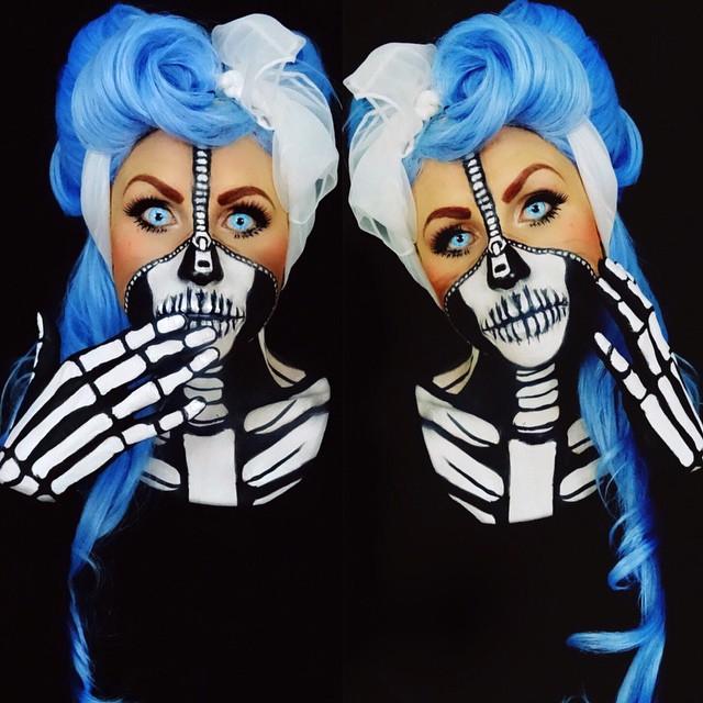 Pinturas corporais insanas de Corie Willet