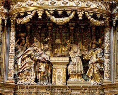 Presentación en el templo Condestables