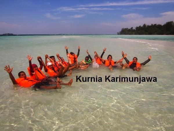peserta kelompok di karimunjawa
