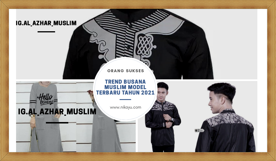 Trend Busana Pria Muslim 2021 Model Fashion Terbaru | Harga Murah