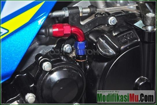 Modip Jalur Oli - Video Cara Modifikasi Suzuki Satria F150 Injeksi Turbo Dengan Turbocharger Motor