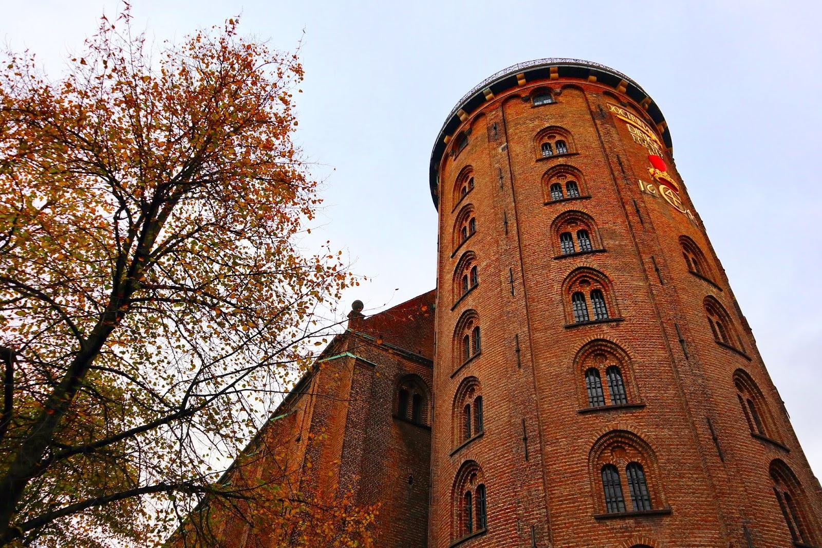 Round Tower Denmark Autumn