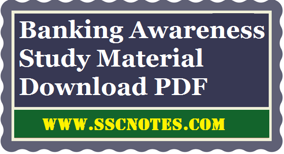 Banking Awareness Question Bank PDF Download