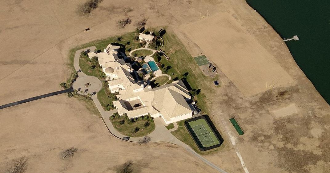 Celebrity Homes Deion Sanders Spread In Prosper Tx