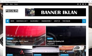 Pembuatan website untuk Mobil detailing & Salon