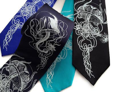 Jellyfish Necktie