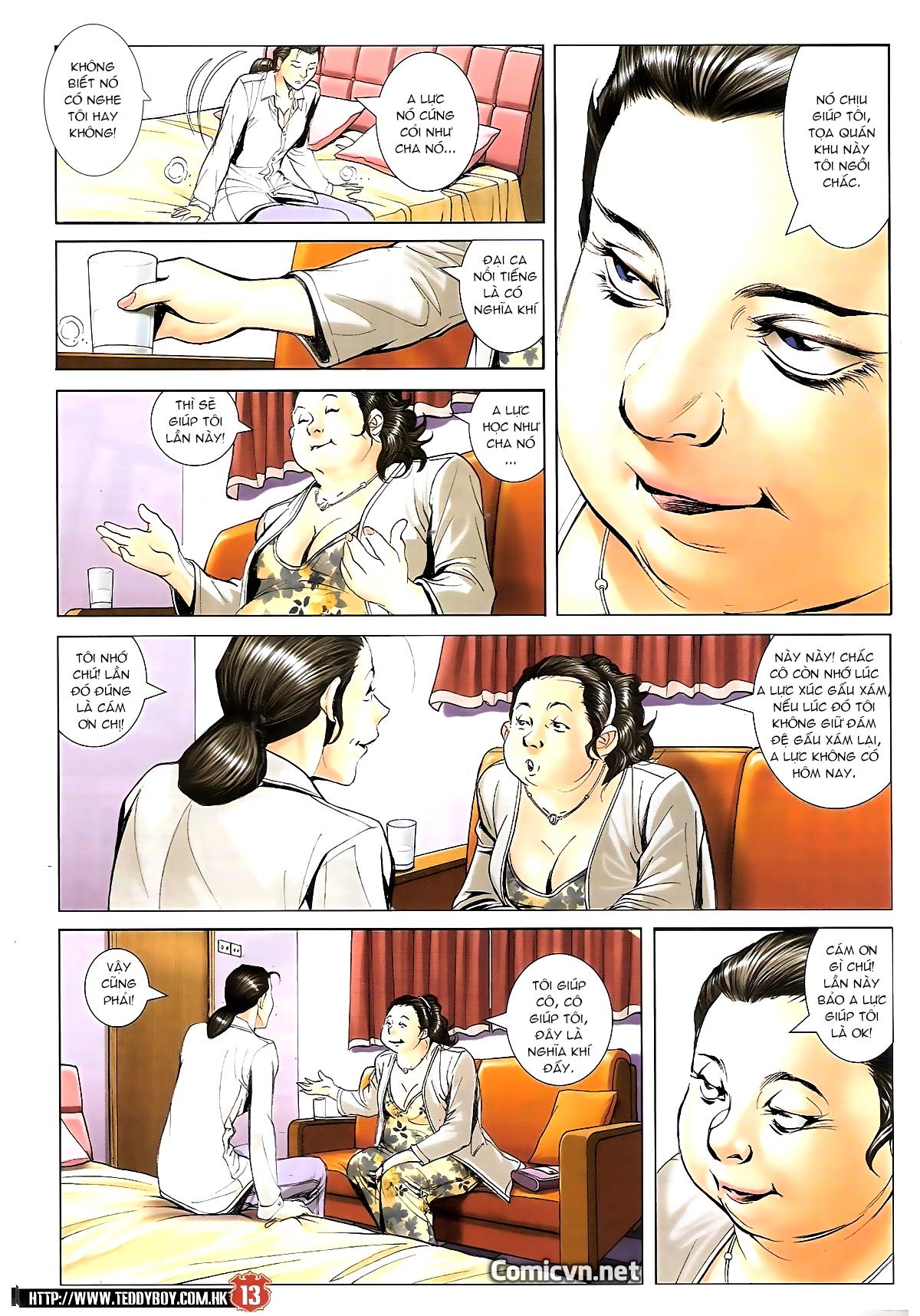 Người Trong Giang Hồ chapter 1643: tuyển cử cấp bách trang 11