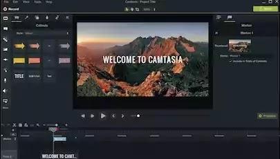 تفعيل برنامج camtasia studio 2019