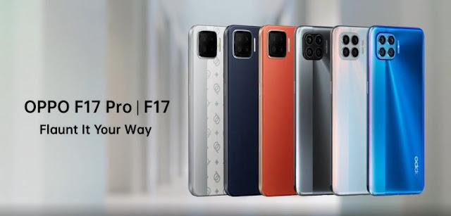 أوبو تعلن رسميًا عن هاتفيها الحديثين Oppo F17 و Oppo F17 Pro