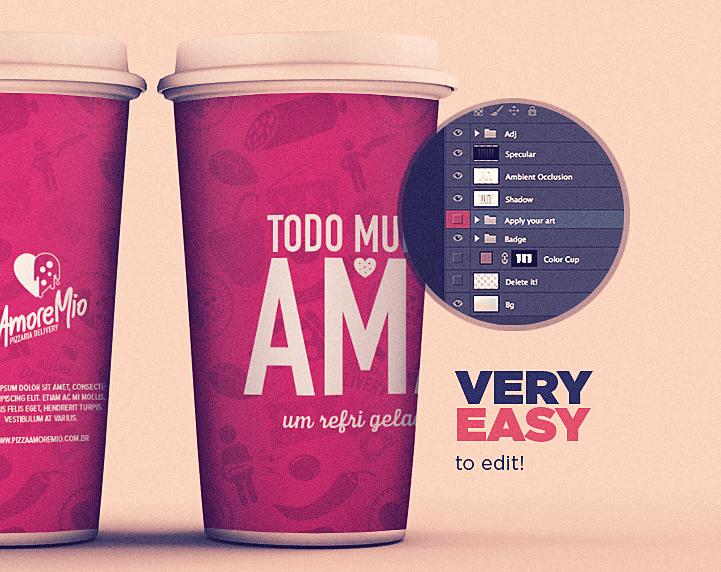 Free Coffee Cup Mockup, psd files, coffee mockups