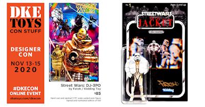 Designer Con 2020 Exclusive Street Wars: Secret of the Jacket Resin Figures by Fatoh x DKE Toys