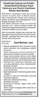 Lowongan Kerja PT. ECS Indonesia