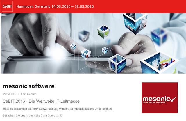 mesonic und BT-IT GmbH auf der CeBIT 2016