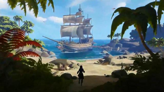 Confira um extenso gameplau da avntura de piratas online da Rare, Sea of Thieves, que saíra para PC e Xbox One.