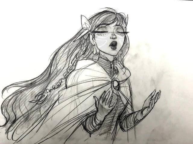 BELLE, la nueva película de Mamoru Hosoda, se estrenará en julio y muestra los personajes del diseñador de Frozen.