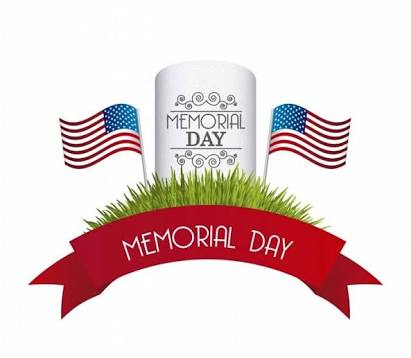 Memorial Day 2017 Cliparts