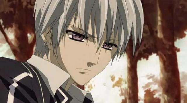 Zero Kiryu, Vampire Knight, hottest anime guys
