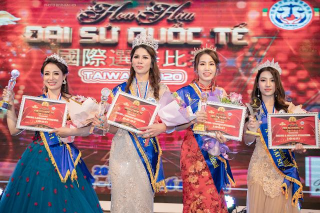Phạm Thị Phương đoạt danh hiệu Á hậu 2 Hoa hậu Đại sứ Quốc tế 2020