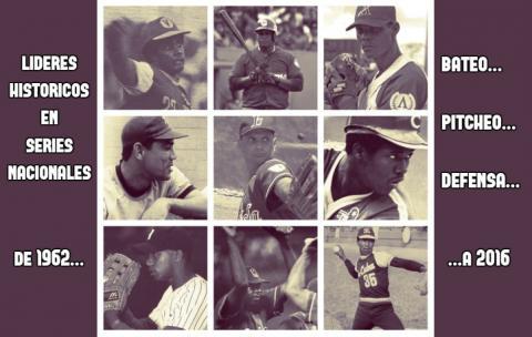 Mira a todos los recordistas de la pelota cubana