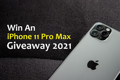 Giveaway & Cara Mendapatkan Iphone 11 Pro Max Gratis