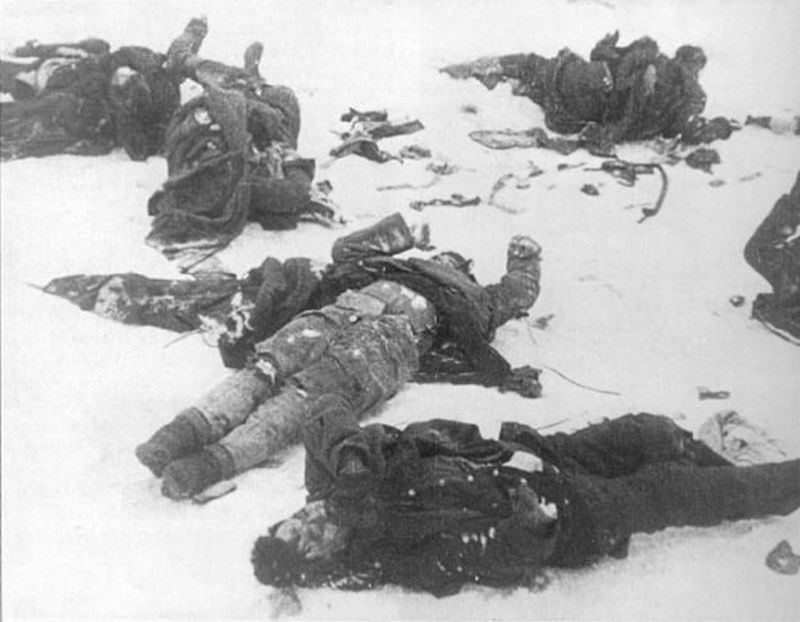 Fotos de soldados muertos en antuco