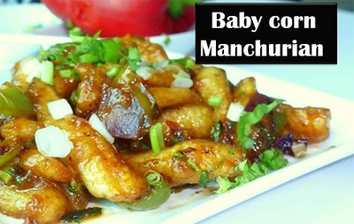 Chilli Baby corn manchurian in Tamil | Tip to get it perfectly crisp
