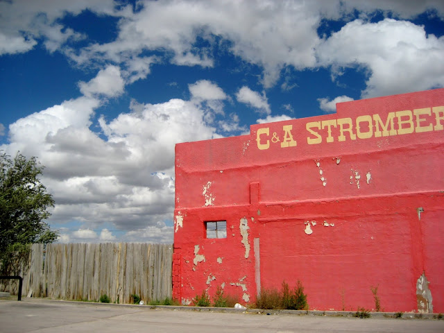 Stromberg's at junction of Highways 54 and 380, Carrizozo, New Mexico. September 2013.