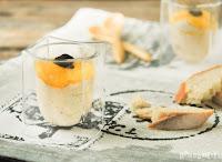 Mousse de foie con mango