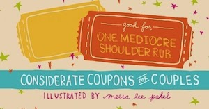 Good for One Mediocre Shoulder Rub: Considerate Coupons for Couples Book Review