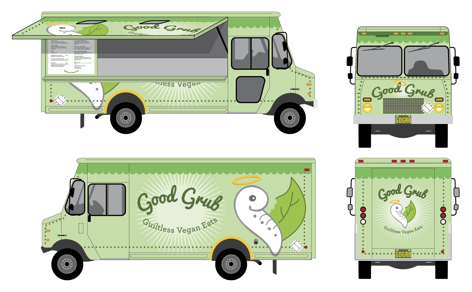 Designyourown Food Truck Template