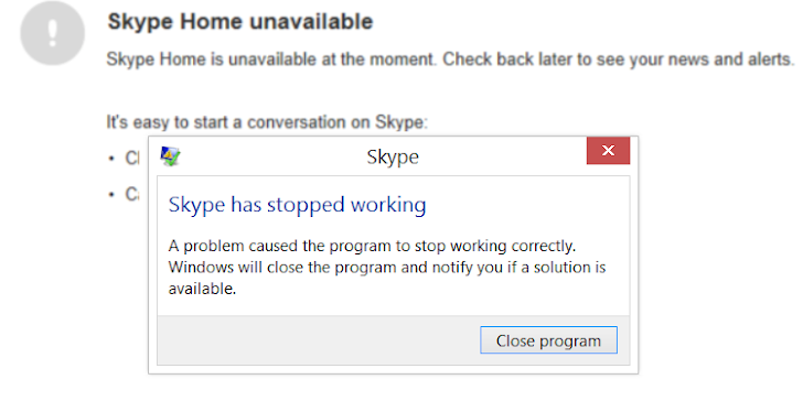 This Simple Message Can Crash Skype and Forces Re-Installation