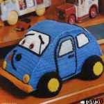 patron gratis coche amigurumi, free amigurumi pattern car