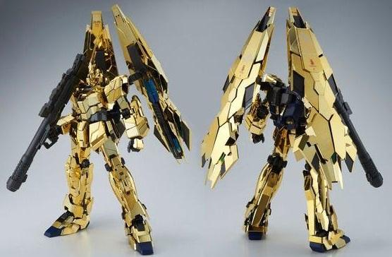 P-Bandai: PG 1/60 Unicorn Gundam 03 Phenex [Gold Plated] - Release Info