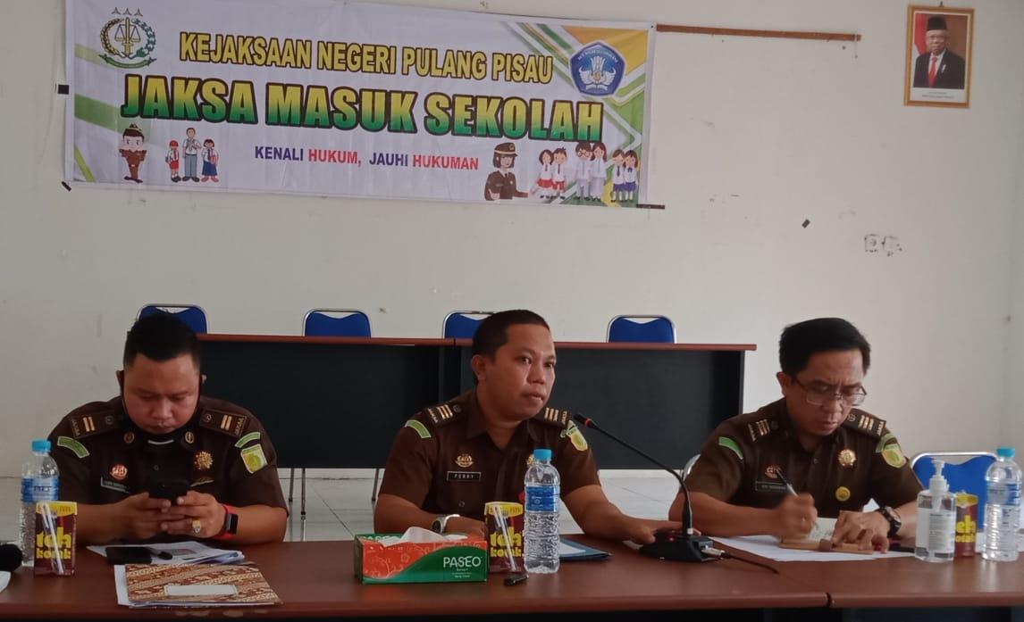 Kejari Pulpis Sosialisasi JMS Serentak di Tiga Kecamatan Secara Virtual