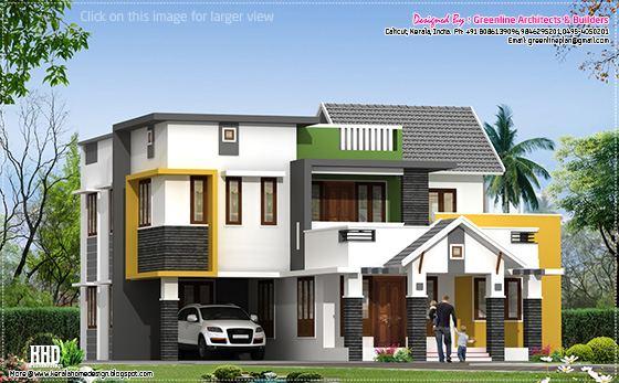 Contemporary mix villa