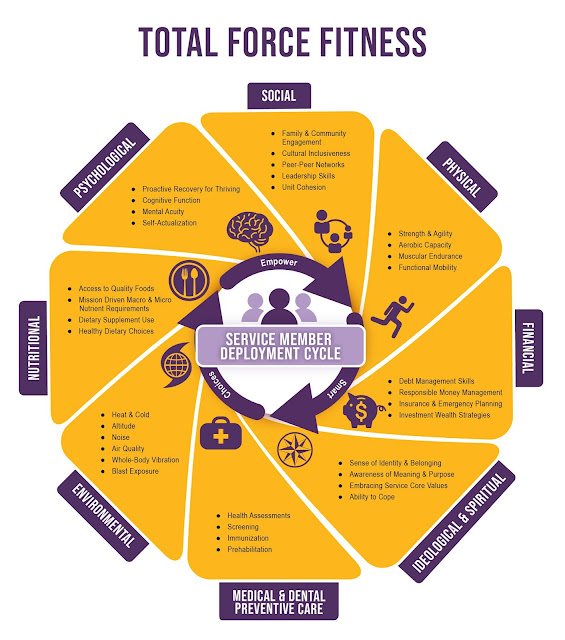 A diagram of CHAMP's Total Force Fitness