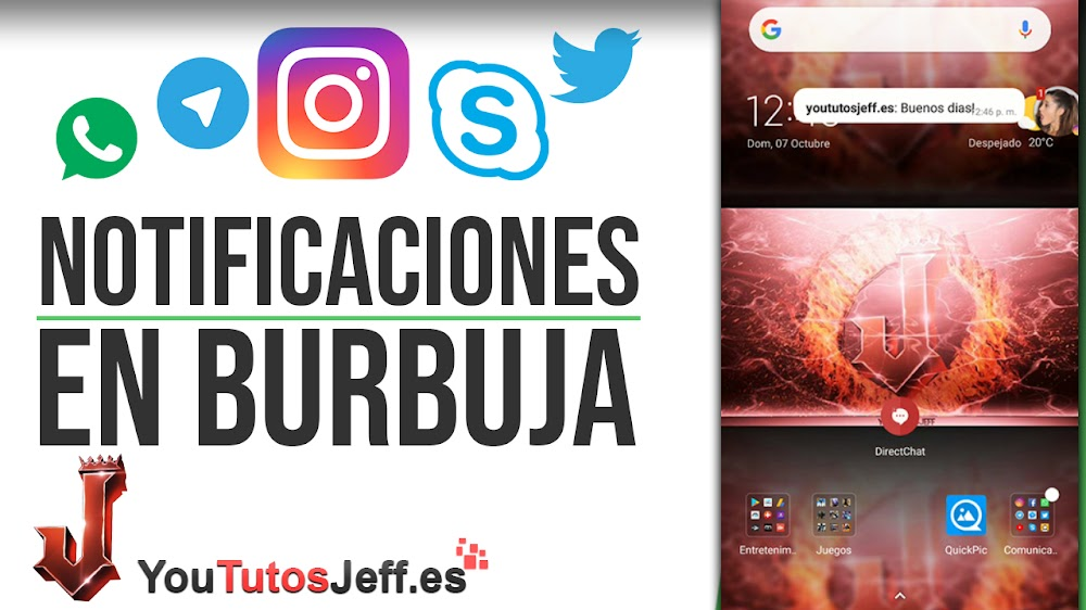 Notificaciones Flotantes Whatsapp, Telegram, Instagram y Mas - Trucos Notificaciones