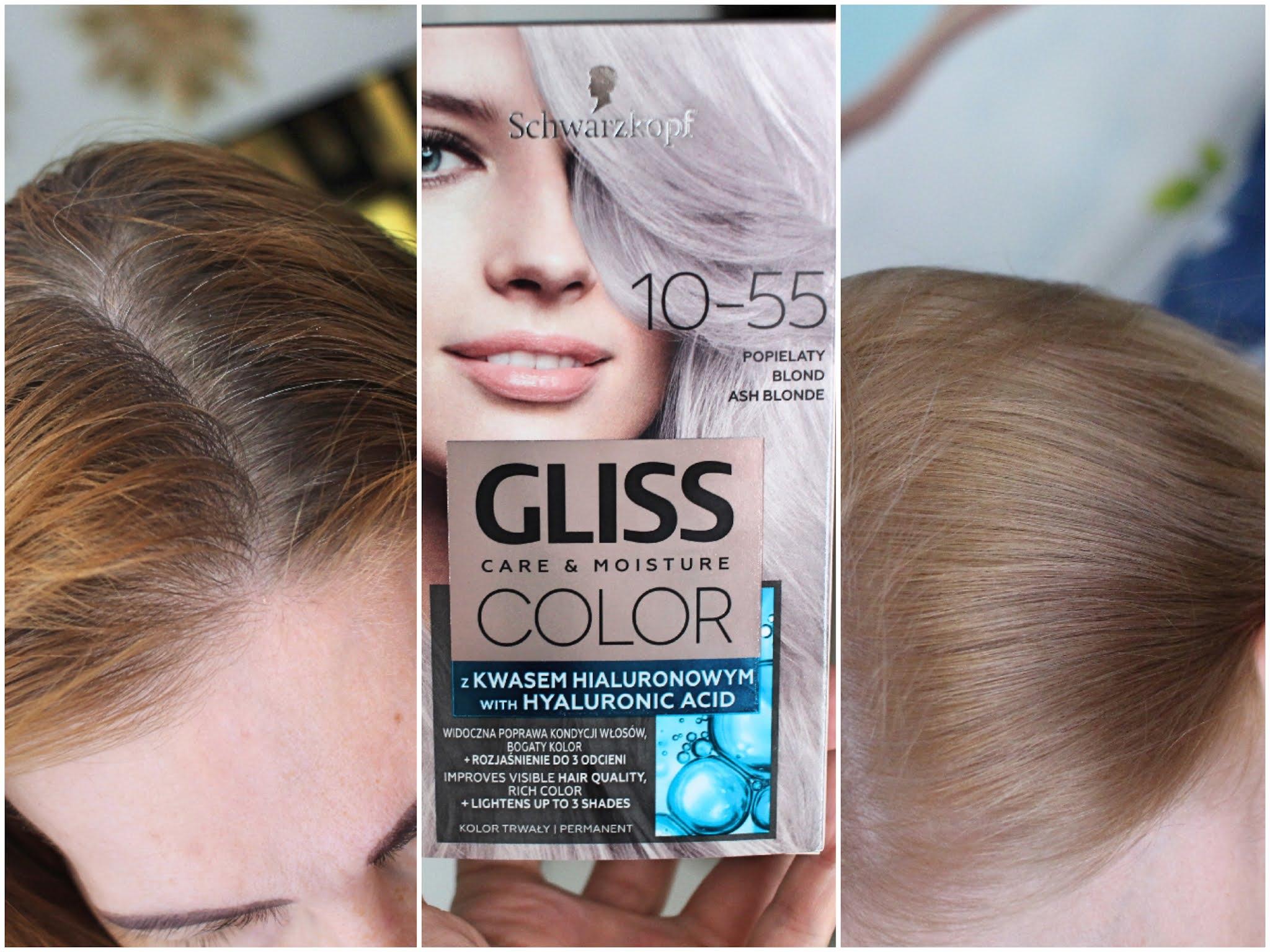 GLISS COLOR 10-55 popielaty blond - ash blonde
