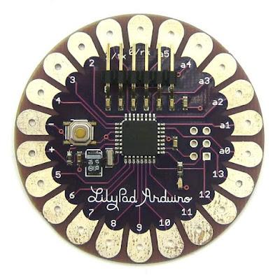 gambar arduino lilypad