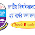 National University Degree 2nd Year Result 2018 Published | Check Result Here