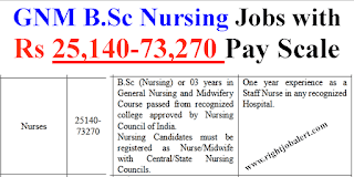 25140-73270 Salay Staff Nurse Jobs in India