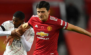 Manchester United captain Maguire unimpressed with referee after Sheffield Utd defeat